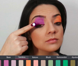 A Virtual Makeup Augmented Reality System